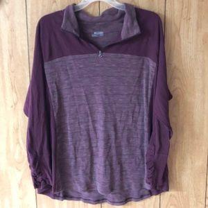 Columbia 3/4 Zip Pullover!